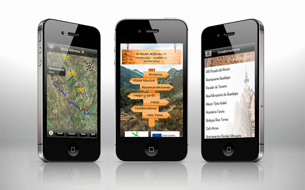 Ruta Alfonso XI para Apple iPhone/iPod Touch