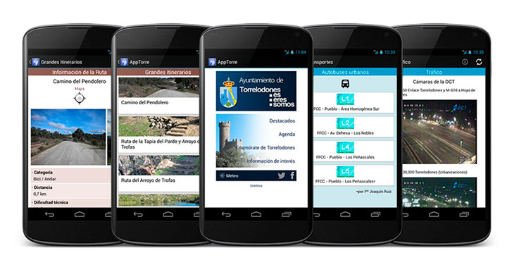 Apps Android y Apple en 42webdesigns